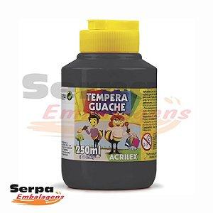 Tinta Guache 250ml Preta