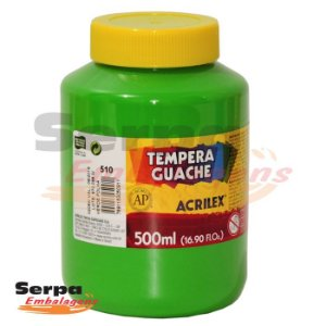 Tinta Guache 500ml Verde Folha