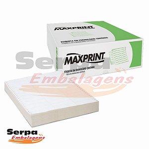 Etiqueta Matricial 2 Carreias 89x36mm - Caixa c/ 8.000 unds