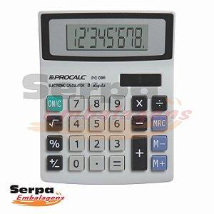Calculadora de Mesa Compacta 8 Dígitos