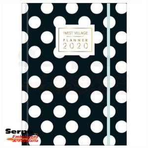 Planner Costurado West Village 2020 - TILIBRA
