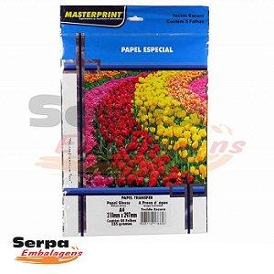 Papel Transfer 160gr - Para Tecido Escuro - c/ 5 Folhas