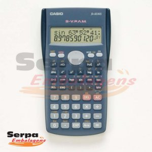 CALCULADORA CIENTIFICA 240 FUNC DISPLAY 21 LINHAS FX-82MS CASIO
