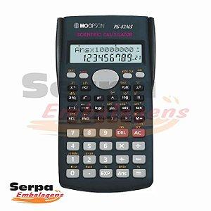 Calculadora Cientifica 240 Funções 12 dígitos Visor 2 Linhas - Hoopson