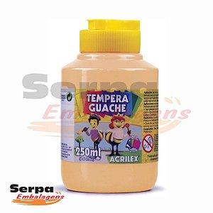 Tinta Guache 250ml Amarelo Pele