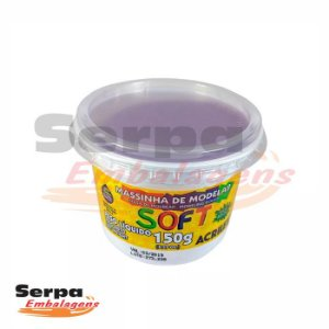 Massinha de Modelar Soft - 150gr Violeta