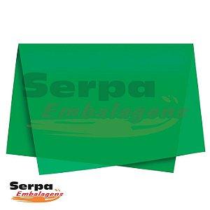 Papel Seda Verde Bandeira 48x60 cm - Pacote com 100 unidades