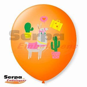 Balão n°9 Lhama - Pacote com 25 unidades
