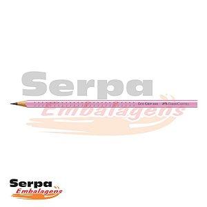 LÁPIS GRAFITE FABER GRIP 2001-B CORPO ROSA