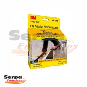 Fita Antiderrapante 3M Safety-Walk Preta - 50 mm x 5 m