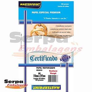 Papel Especial Verge 180G A4 - 50 folhas
