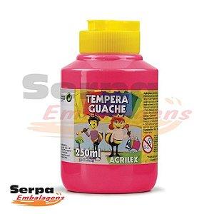 Tinta Guache 250ml Rosa