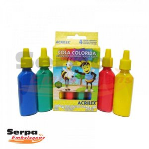 COLA COLORIDA 4 CORES 23G