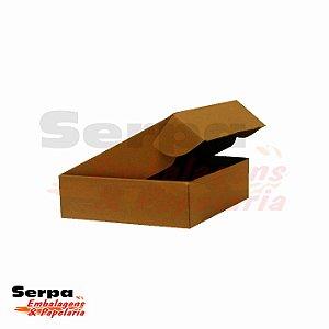 Caixa de Papelão (com fechamento pré-montada) 16 x 16 x 4 cm