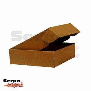 Caixa de Papelão (com fechamento pré-montada) 25 x 20 x 5 cm