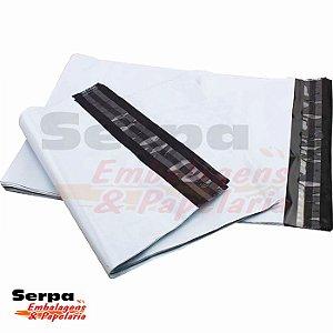 Envelope Plástico Segurança Lacre 26x36 cm