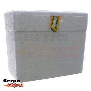 Caixa Térmica de Isopor 18 Litros - ISOTERM