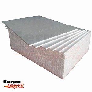 Placa de Isopor EPS 100x50 cm