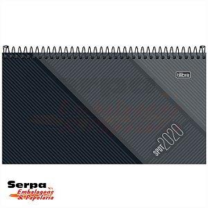 Agenda Executiva Espiral Semanal de Bolso - SPOT MASCULINA 2020 - TILIBRA