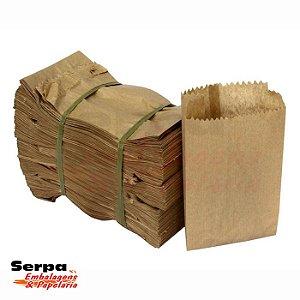 Saco / Cartucho de Papel Kraft LISO - Fardo com 500 unidades