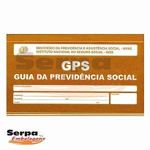 Carnê Guia da Previdência Social - GPS - Recolhimento de Contribuições