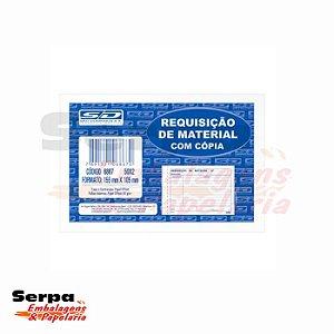 Bloco Requisição de Material com Cópia - 50x2 vias - 105x155 mm