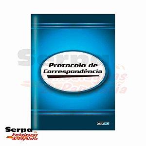 Livro Protocolo de Correspondência Pequeno - 104 Folhas