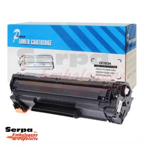 Toner Compatível HP CF 283A - Multifuncionais HP M-127FN, M127, M-127FW, M-127, M-125, M125A, M-125A, M-201, M-225, M-226, M-202