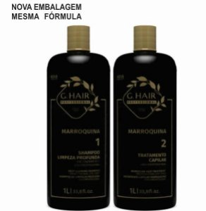 Escova Progressiva Marroquina Ghair - 2 X 1000ml