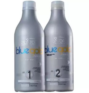 Salvatore Blue Gold Premium - Kit Escova Progressiva 500 ml