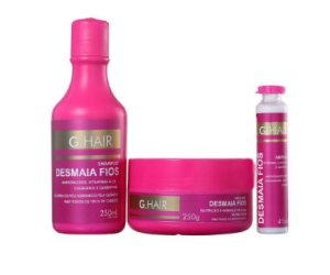 G.Hair Desmaia Fios Kit (3 Produtos)
