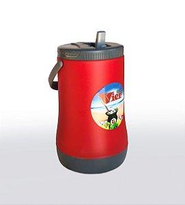 Térmica de Tererê 2,5litros - Personalizada/Vermelha