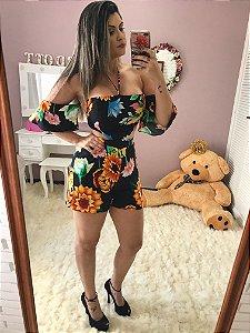 Macaquinho Floral