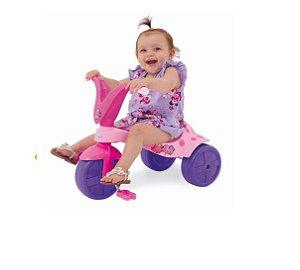 Triciclo de Bebe Menina Pink Pantera Xalingo