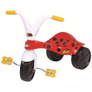 Triciclo de Bebe Menina Joaninha Xalingo