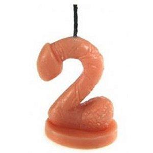 Vela Erótica – Vela de Aniversário em Formato de Pênis – Número 2
