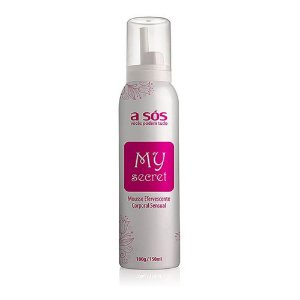 Mousse Corporal Efervescente Sensual MY SECRET