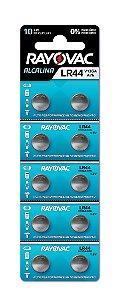 Pilha Eletrônica Rayovac Botão V13GA/LR44 - 10 Pilhas