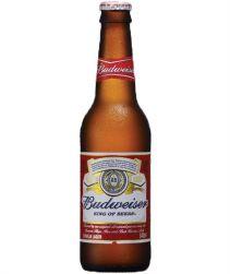 Cerveja Budweiser Long Neck 330ml com 24 unidades