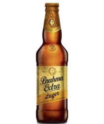 Cerveja Brahma Extra Lager Long Neck 355ml com 24 unidades