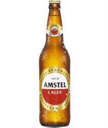 Cerveja Amstel Garrafa 600ml com 24 unidades