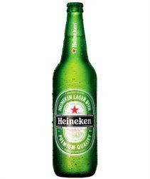 Cerveja Heineken Garrafa 600ml com 24 unidades