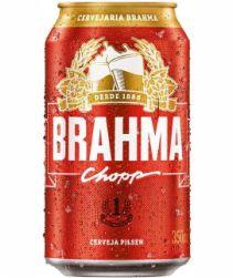Cerveja Brahma Lata 350ml com 12 unidades