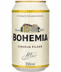 Cerveja Bohemia Lata 350ml com 12 unidades
