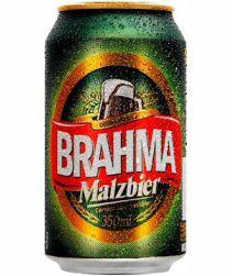 Cerveja Malzbier Brahma Lata 350ml com 12 unidades