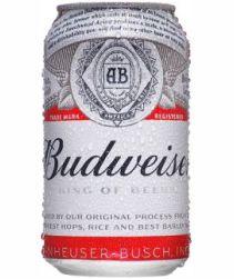 Cerveja Budweiser Lata 350ml com 12 unidades
