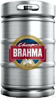 Chopp Brahma Claro Barril 50L