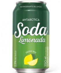 Refrigerante Soda Antarctica Lata 350ml com 12 unidades