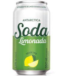 Refrigerante Soda Zero Antarctica Lata 350ml com 12 unidades