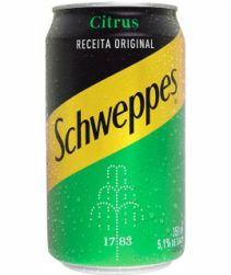 Refrigerante Schweppes Citrus Lata 350ml com 06 unidades